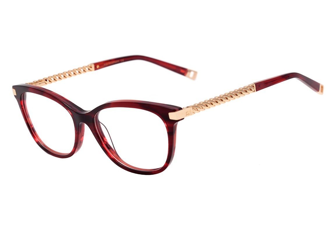 Ana Hickmann Ah 6318 - Óculos De Grau E01 Vinho E Preto - R  489,00 ... 19f157819c
