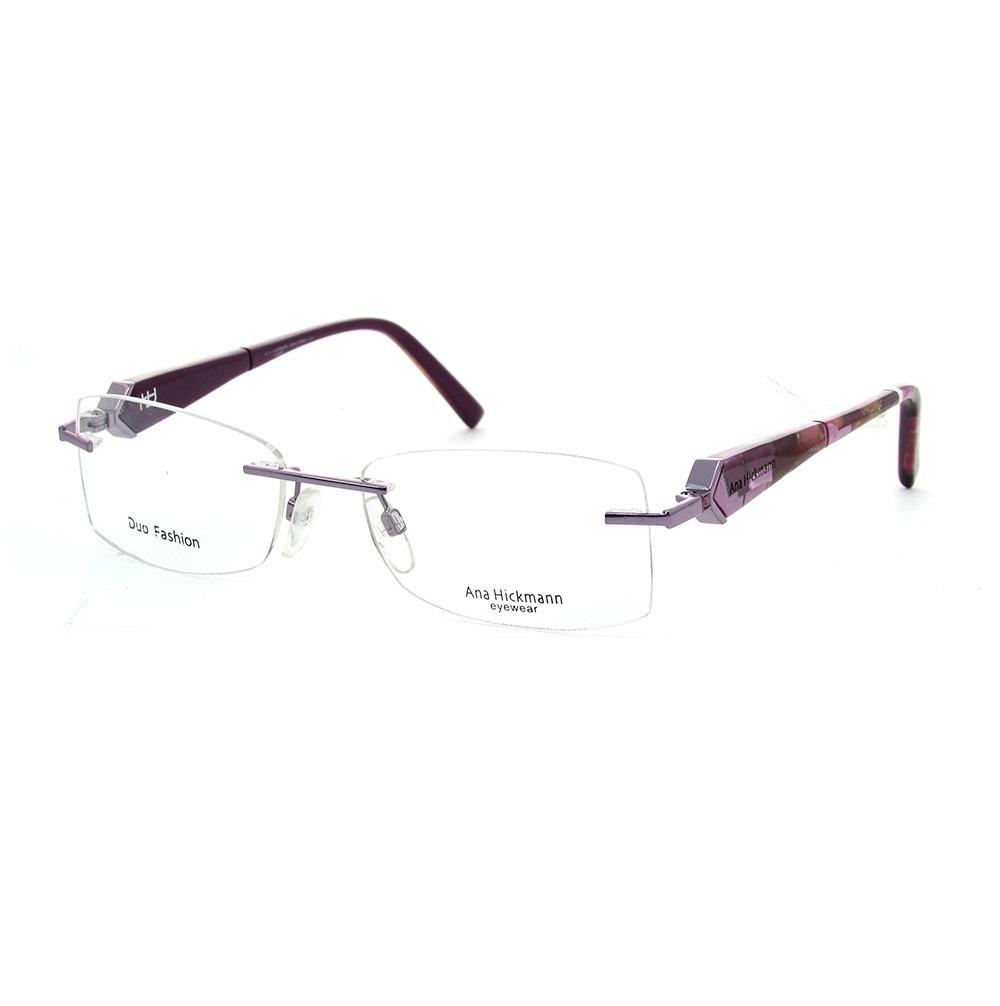 bb4313b6a Ana Hickmann Ah1154 Óculos De Grau - R$ 368,55 em Mercado Livre