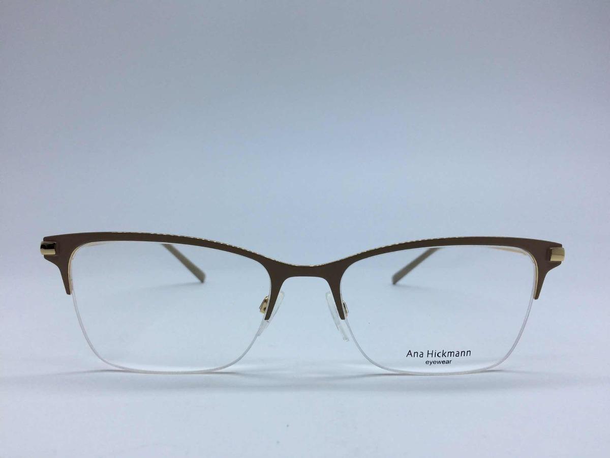 Ana Hickmann Óculos Ah1326 04a 55 19 145 - R  441,00 em Mercado Livre c80f27cbca