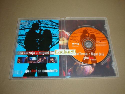 ana torroja miguel bose girados en concierto 01 warner dvd