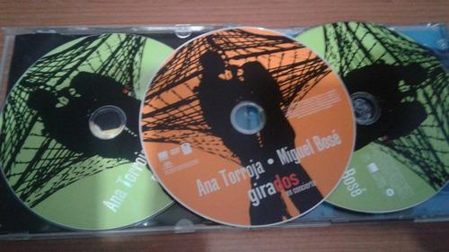 ana torroja y miguel bose 2cd-1dvd girados en concierto