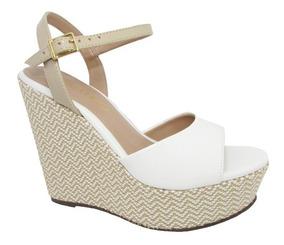 6e1b3e86e Tenis Via Uno Branco Anabela - Sapatos com o Melhores Preços no ...