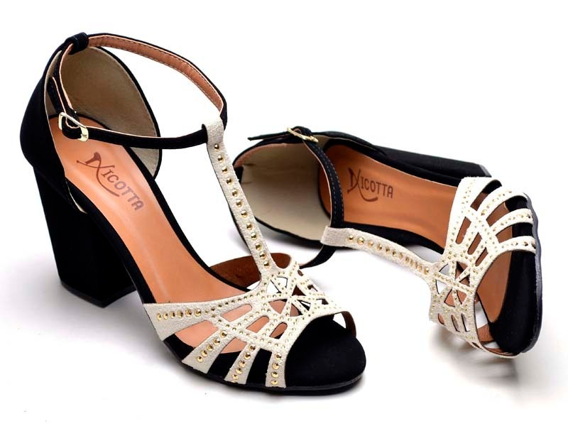 6e2a845072 Carregando zoom... sandalia feminina salto alto super luxo anabela chinelo  teni