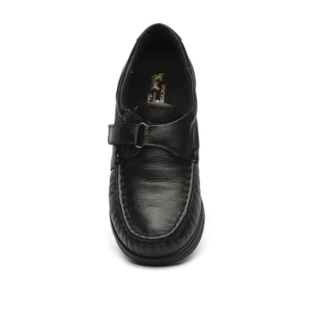 2f2761e6b1 anabela doctor shoes sapato feminino. Carregando zoom... sapato feminino  anabela 183 em couro preto ...
