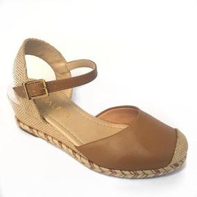 622615f02 Anabela Via Uno Espadrille Feminino Sandalias - Sapatos no Mercado ...