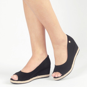 dfe136639c Anabela Salto De Cortiça - Sapatos no Mercado Livre Brasil