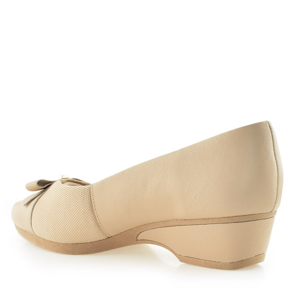 ebbd995fe9 Sapato Salto Anabela Care Joanetes Usaflex Z2309 Cirandinha - R  235 ...