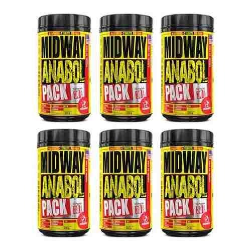 96acb906d Anabol Pack 30 Packs Midway U S A 6 Potes - R  299
