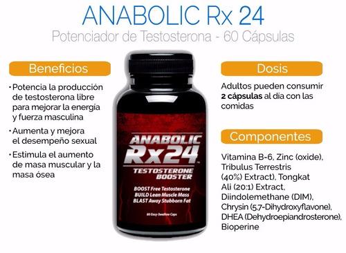 anabolic rx-24 incrementa tu masa muscular