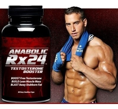 anabolic rx-24 testosterone booster 100% original