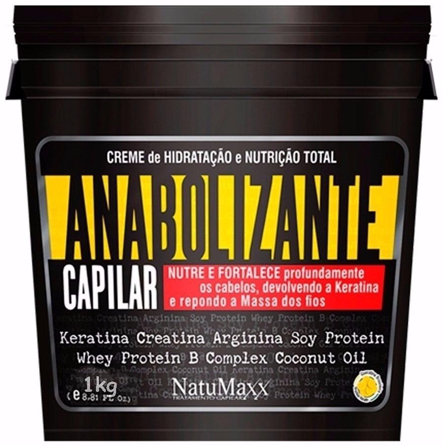 7619d0de9 Anabolizante Capilar Restauração Completa 1kg, Natumaxx - R$ 139,99 em  Mercado Livre