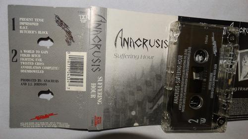 anacrusis - suffering hour (metal blade)