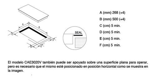 anafe 2 hornallas vitrocerámica atma cae3020v envío gratis