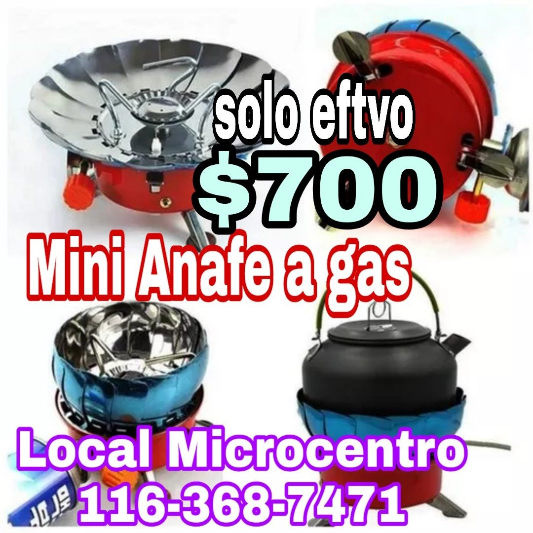 Cocina Gas Portatil | Anafe Camping Portatil Mini Calentador Cocina Gas Butano Loc 699