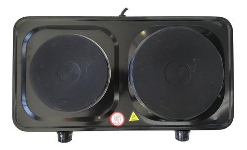 anafe eléctrico 2 hornallas kushiro 1500- 1000 watts c60