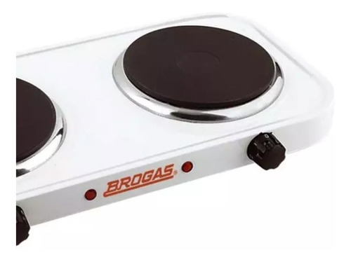 anafe electrico brogas 2 hornallas an02p 2000 watts