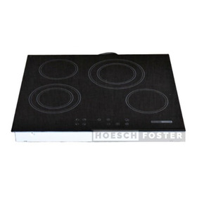 Anafe Eléctrico Vitrocerámico Hoesch Foster 220v Táctil