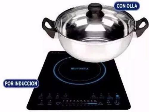 anafe electrico vitroceramico touch induccion hornalla 1900w