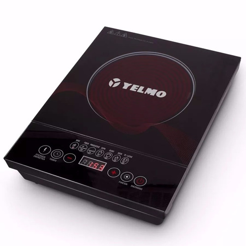 anafe electrico vitroceramico yelmo an9901 termostato 2000w