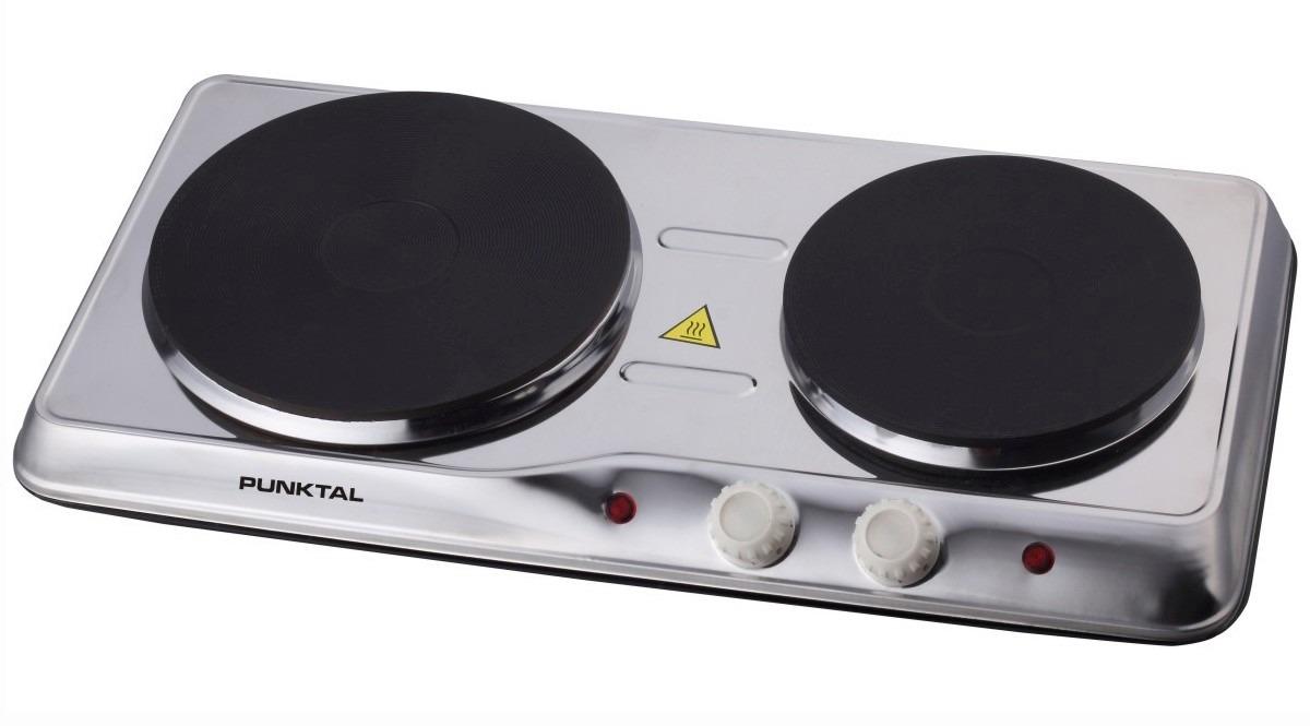 Anafe placa de cocina el ctrica punktal 2 discos 2280 2740 - Placa electrica cocina ...