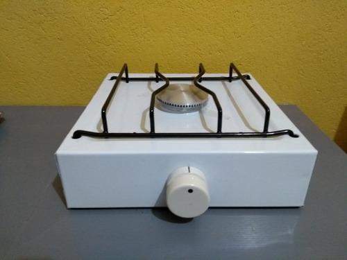 anafe simple a gas  enlosado único  con mechero de aluminio.