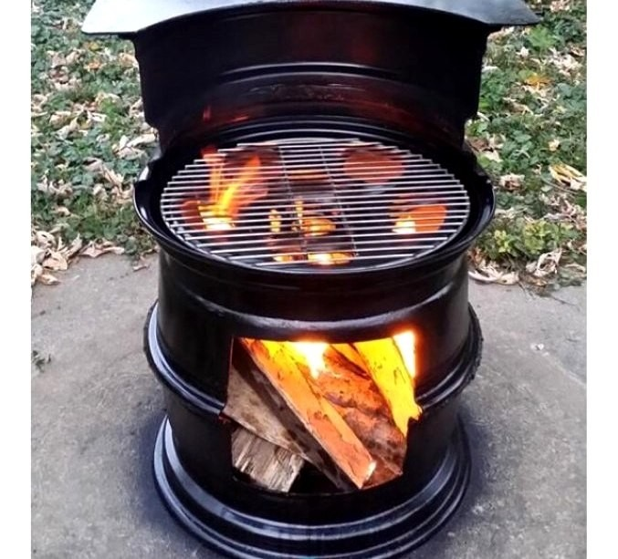 Anafre cocina fogon parrillera de carb n o le a jr xavi - Cocina de carbon ...