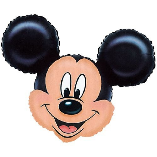 anagram international 776401 mickey mouse head shape pack, 2