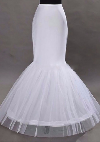 anágua saiote para vestido sereia noiva - pronta entrega
