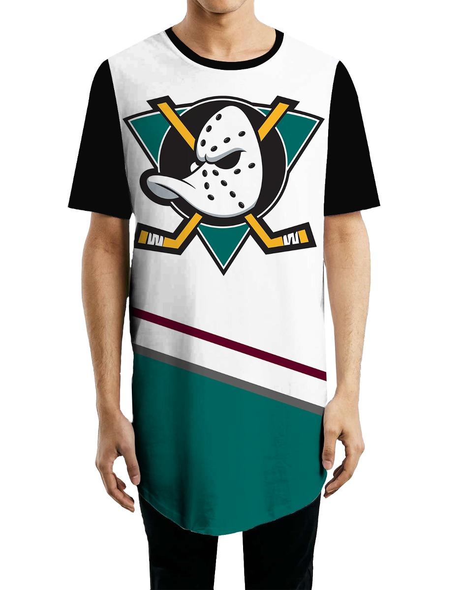 2a11e6b4b51f1 anaheim ducks hockey camiseta oversized personalizada swag. Carregando zoom.