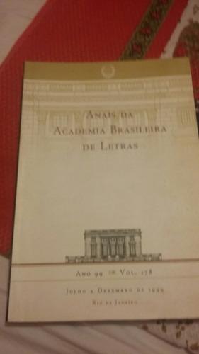 anais da academia brasileira de letras