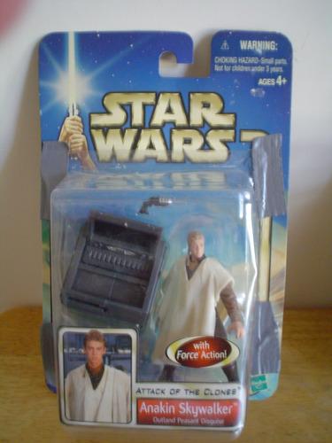 anakin skywalker force action hasbro 2002 mide 10 cms
