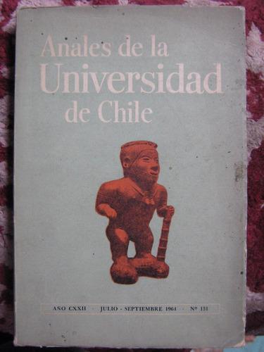 anales de la universidad de chile 1964 número 131