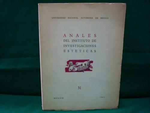 anales del instituto de investigaciones estéticas, unam