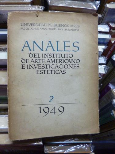 anales instituto arte americano e investig. estèticas nº 2