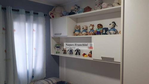 anália franco - zl/sp- apartamento 3 dormitórios, 1 suíte, 2 vagas, 90 m² - r$ 620.000,00 - ap6779