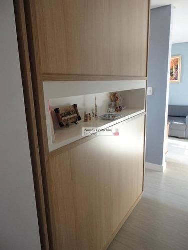 anália franco - zl/sp - apartamento 3 dormitórios, 2 vagas, 82 m² - r$ 560.000,00 - ap6841