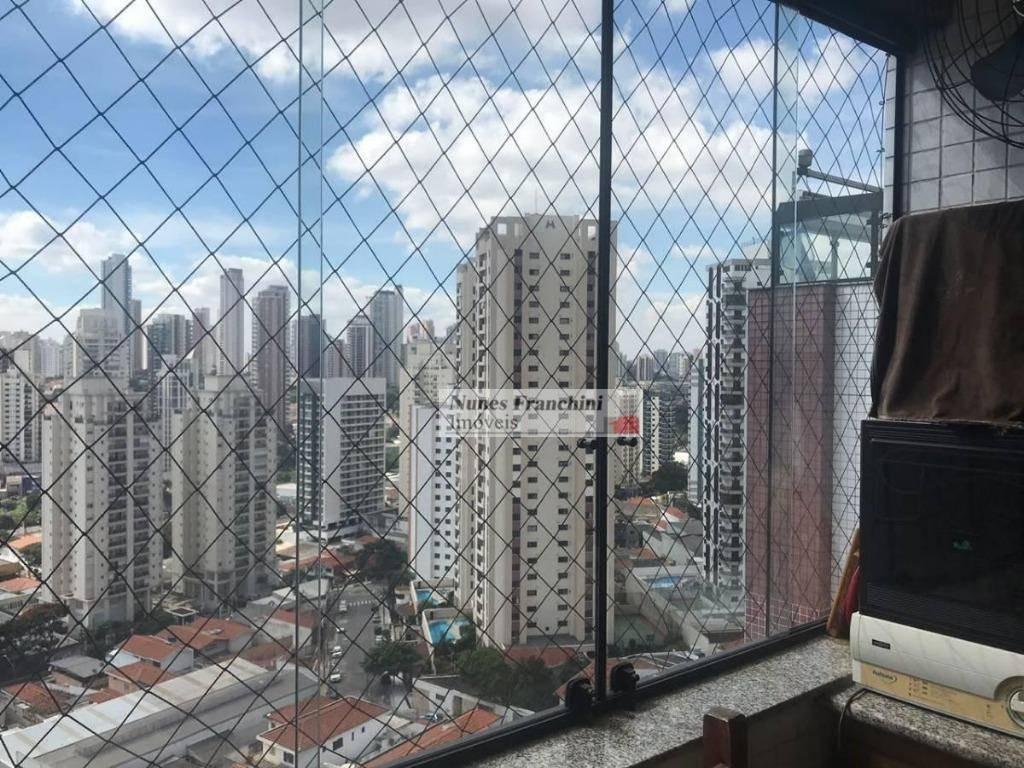 anália franco -zl/sp - cobertura 4 dormitórios, 1 suíte, 4 vagas, 210m² - r$ 1.280.000,00 - co0041