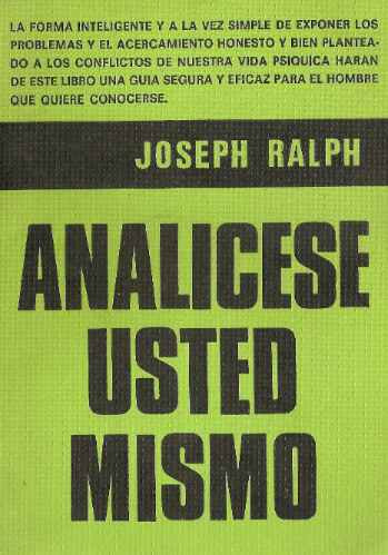 analicese usted mismo - joseph ralph - central
