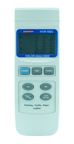 analisador de cores mod.acr-1023 - nfe - garantia