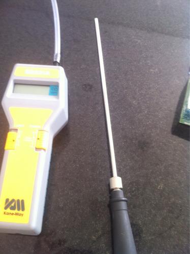 analisador de gases monoxido de carbono  kane-may sga91a