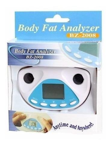 analisador de gordura corporal portátil digital de mão com m