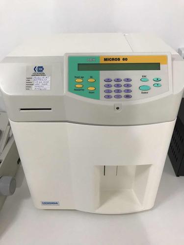 analisador hematológico abx horiba micros 60