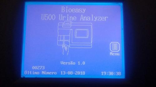 analisador tira urina lumiratek bioeasy mission u500