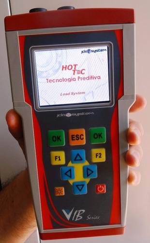 analisador vibrações e espectro vib100 hottec c/balanceam.2p