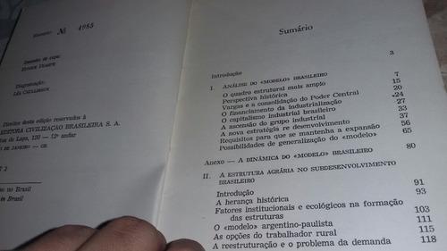 análise do modelo brasileiro - celso furtado