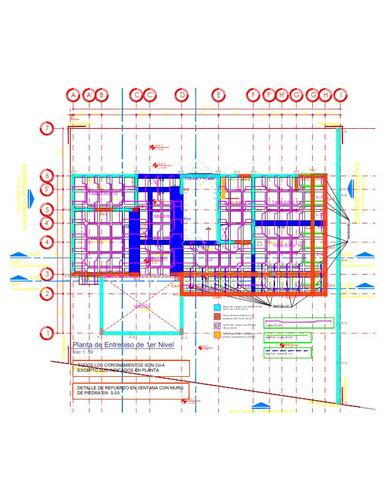 analisis, calculo, diseño y dibujo estructural