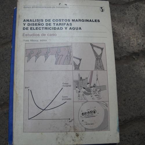 analisis de costos marginales y diseño de tarifas de electri