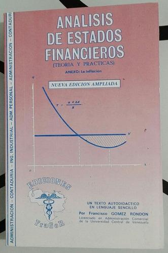 analisis de estados financieros libro nuevo gomez rondon