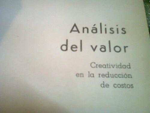 analisis del valor