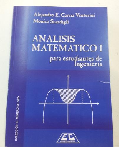 analisis matematico 1 estudiantes de matematica venturini